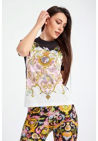 Versace Jeans Couture - T-SHIRT VERSACE JEANS COUTURE. Okazja: na co dzień. Materiał: materiał. Styl: casual #1