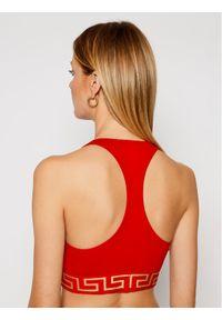 VERSACE - Versace Biustonosz top Donna AUD01039 Czerwony. Kolor: czerwony