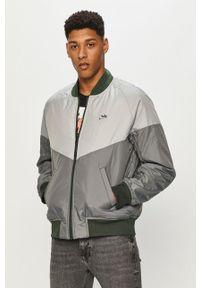 Zielona kurtka Nike Sportswear gładkie, na co dzień