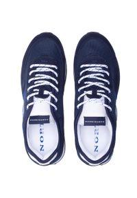 North Sails - Sneakersy NORTH SAILS - RH/01 Recy -054 Navy. Kolor: niebieski. Materiał: materiał, zamsz, skóra. Szerokość cholewki: normalna #6