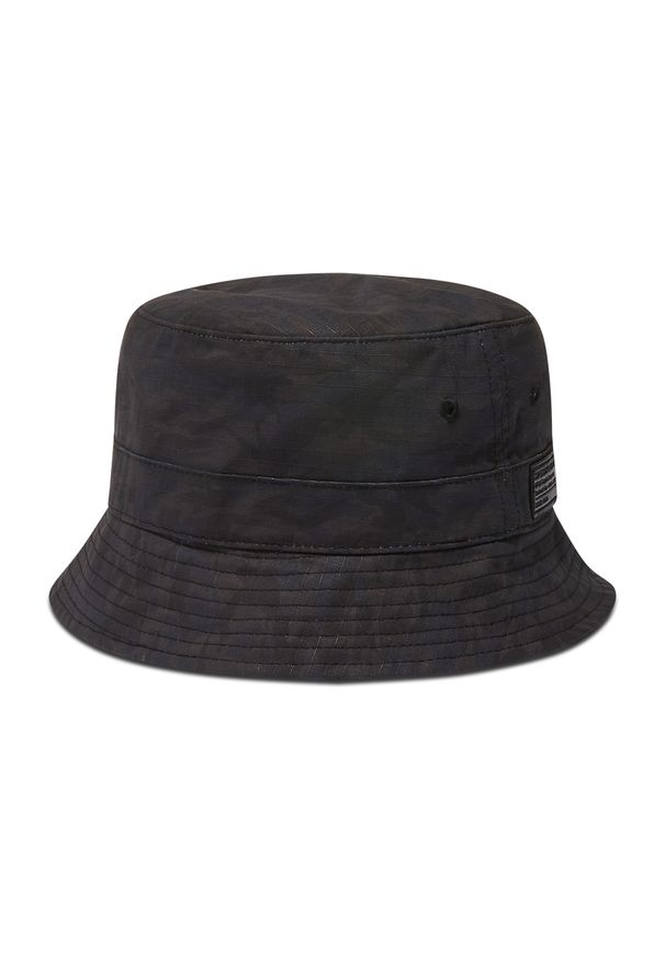 Superdry - Kapelusz SUPERDRY - Bucket Hat M9010161A Black Nathan Camo 5NL. Kolor: niebieski. Materiał: materiał, bawełna