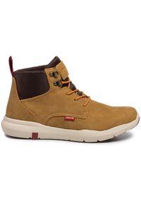 Levi's® Trzewiki 230682-703-26 Brązowy. Kolor: brązowy