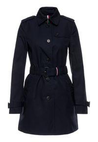 Niebieski płaszcz TOMMY HILFIGER