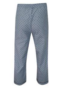 ForMax - Piżama, Dwuczęściowa, Niebieska Bawełniana, Koszula Długi Rękaw, Długie Spodnie -FORMAX. Kolor: niebieski. Materiał: bawełna. Długość: długie