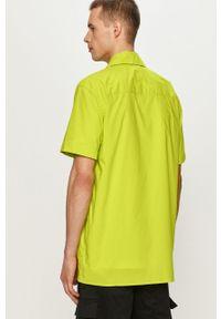 CATerpillar - Caterpillar - Koszula. Okazja: na co dzień. Kolor: żółty, zielony, wielokolorowy. Materiał: tkanina. Długość rękawa: krótki rękaw. Długość: krótkie. Wzór: gładki. Styl: klasyczny, casual #3