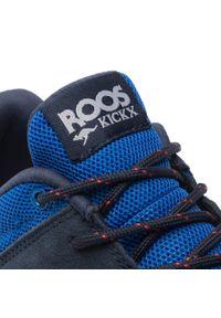 KangaRoos - Sneakersy KANGAROOS - Lites 19047 000 4275 D Royal Blue/Dk Navy. Okazja: na uczelnię, na spacer. Kolor: niebieski. Materiał: skóra, zamsz, materiał. Szerokość cholewki: normalna