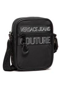 Versace Jeans Couture - Saszetka VERSACE JEANS COUTURE - E1YWABA3 Nero 899. Kolor: czarny. Materiał: materiał