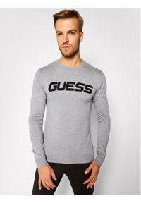 Guess Sweter M0BR53 Z2PL0 Szary Regular Fit. Kolor: szary