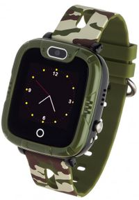 Zielony zegarek GARETT młodzieżowy, smartwatch