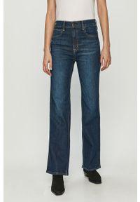 Niebieskie jeansy bootcut GAP
