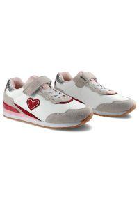 Big-Star - Sneakersy BIG STAR HH374109 Biały. Zapięcie: rzepy. Kolor: biały. Materiał: skóra ekologiczna, materiał. Szerokość cholewki: normalna. Wzór: aplikacja. Sport: turystyka piesza