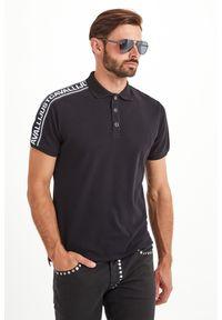 Koszulka polo Just Cavalli z nadrukiem, sportowa
