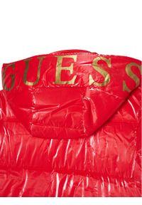Czerwona kurtka puchowa Guess