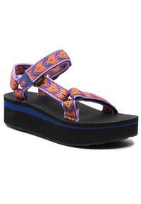 Fioletowe sandały Teva