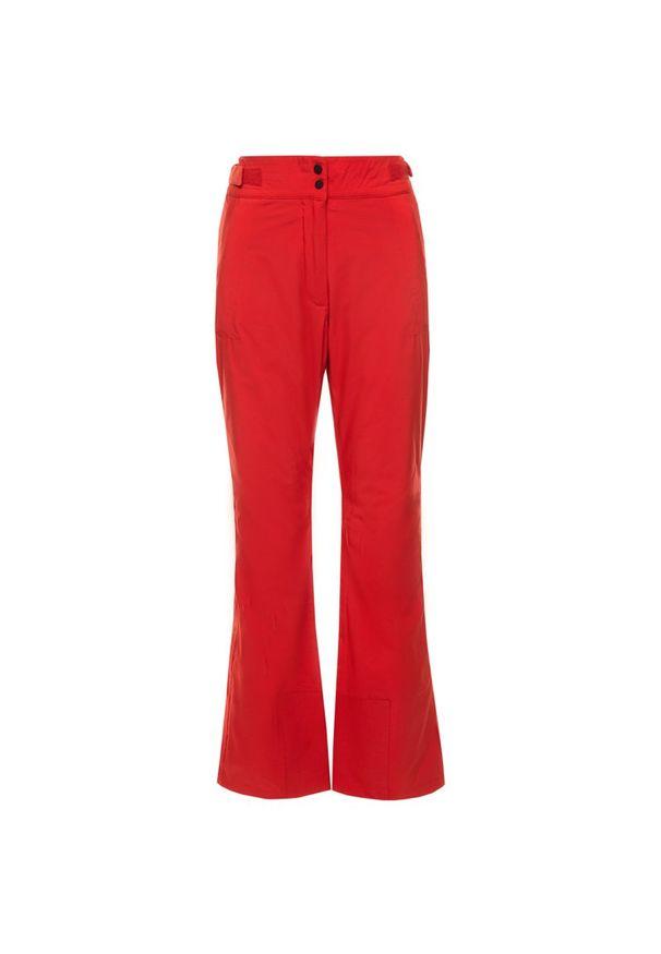 Czerwone spodnie narciarskie Eider