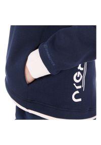 Bluza damska z kapturem Energetics Lucienne 302535. Typ kołnierza: kaptur. Materiał: materiał, bawełna. Wzór: nadruk, aplikacja. Sport: fitness