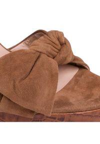 Brązowe sandały Gino Rossi #6