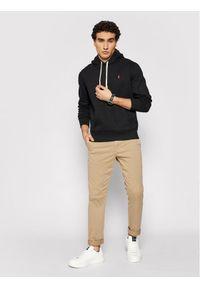 Polo Ralph Lauren Bluza 710766778008 Czarny Regular Fit. Typ kołnierza: polo. Kolor: czarny