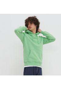 House - Bluza z kapturem basic - Zielony. Typ kołnierza: kaptur. Kolor: zielony