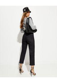 ISABEL MARANT - Czarne jeansy Slim fit. Kolor: czarny