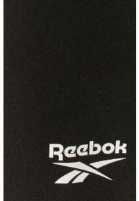 Czarna spódnica Reebok Classic casualowa, gładkie, na co dzień, z podwyższonym stanem