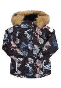 Czarna kurtka Reima na zimę