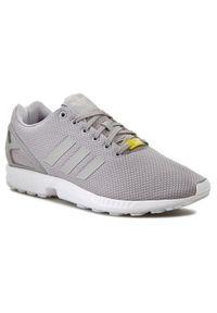 Szare sneakersy Adidas Adidas ZX, z cholewką