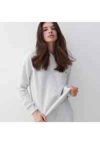 Reserved - Bluza z bawełny organicznej - Jasny szary. Kolor: szary. Materiał: bawełna