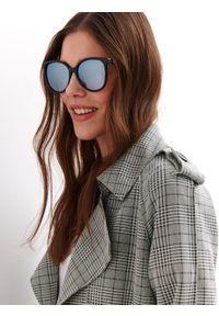 Czarne okulary przeciwsłoneczne TOP SECRET