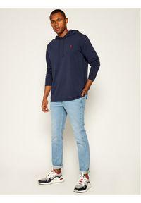 Polo Ralph Lauren Bluza Core Replen 710652669015 Granatowy Regular Fit. Typ kołnierza: polo. Kolor: niebieski