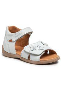 Froddo - Sandały FRODDO - G2150134-4 D White. Kolor: niebieski. Materiał: skóra. Wzór: aplikacja. Sezon: lato