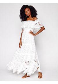 Biała sukienka letnia