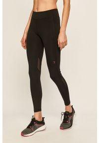 Czarne legginsy Only Play z nadrukiem