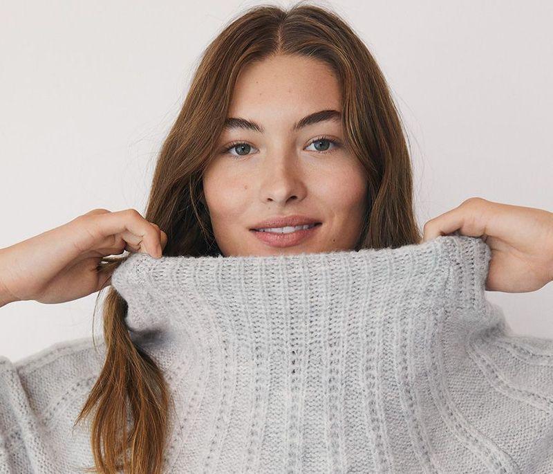 Swetry z dzianiny