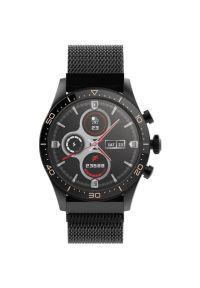 Czarny zegarek FOREVER smartwatch, casualowy #9