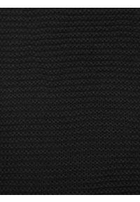 Czarny szalik TOP SECRET w kolorowe wzory, na lato