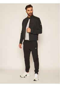 Czarna kurtka przejściowa Calvin Klein na co dzień, casualowa