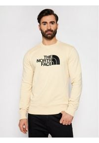 The North Face Bluza Drew Peak Crew NF0A4T1ERB61 Beżowy Regular Fit. Kolor: beżowy