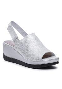 Srebrne sandały Simen