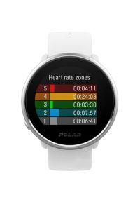 Biały zegarek POLAR sportowy