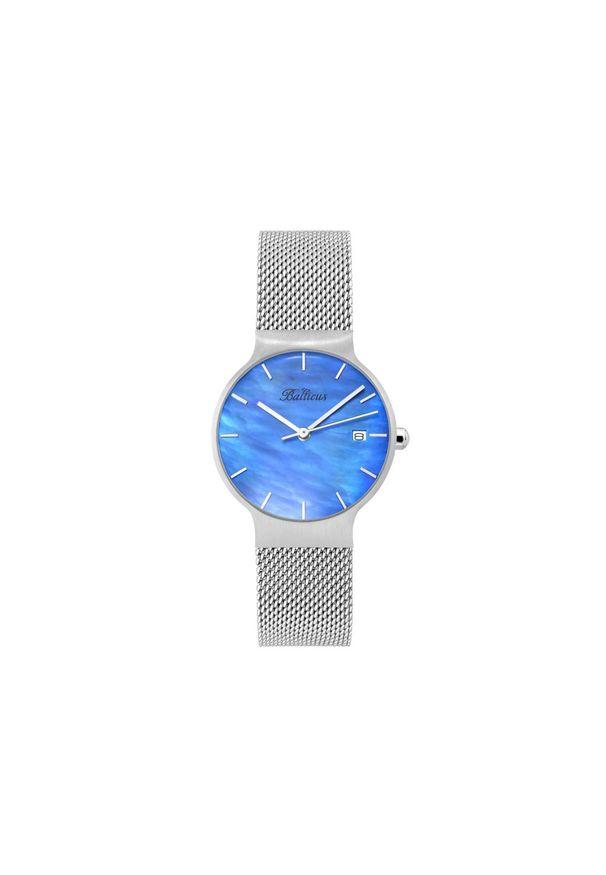BALTICUS ZEGAREK Sky Silver Blue Pearl BLT-SKYSBL. Materiał: materiał