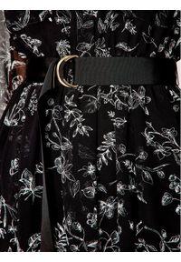 iBlues Sukienka codzienna Nevada 72212401 Czarny Loose Fit. Okazja: na co dzień. Kolor: czarny. Typ sukienki: proste. Styl: casual