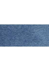 Niebieska bluza TOP SECRET ze stójką