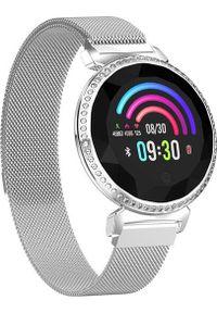 Srebrny zegarek GepardWatches smartwatch