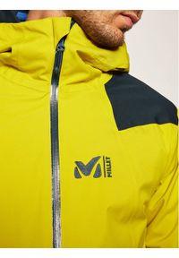Żółta kurtka sportowa Millet narciarska