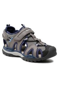 Szare sandały Geox