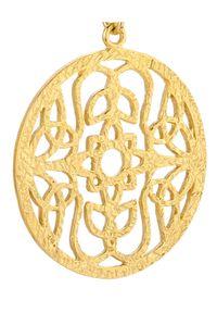 MOKOBELLE - Kolczyki z rozetą Mokobelle. Materiał: srebrne, pozłacane. Kolor: złoty