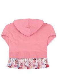 Desigual Bluza Sweet California 20SGSK07 Różowy Regular Fit. Kolor: różowy