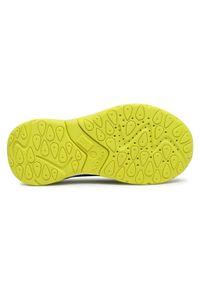 Geox - Sneakersy GEOX - J Calco B. A J04CLA 0FE14 C0749 S Navy/Lime. Okazja: na co dzień. Zapięcie: rzepy. Kolor: niebieski. Materiał: skóra ekologiczna, materiał. Szerokość cholewki: normalna. Styl: casual