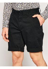 Czarne szorty Tommy Jeans